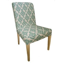 Chair Covers For Ikea Henriksdal Repairing Cane Seat Chairs Items Similar To Damask Slipcover Dining In Teal On Etsy