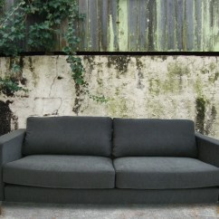 Karlstad Sofa Bed Cover Grey Living Sofas Sl Slipcover For Ikea Microsuede