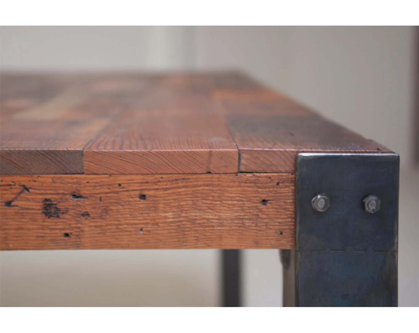 Bold Simplicity 'Mt Shasta' Reclaimed Wood And Iron