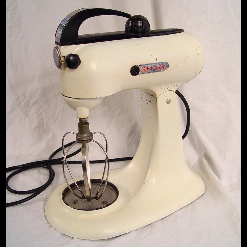Vintage 1940s Kitchenaid 3B 10 Speed Stand Mixer with Whip