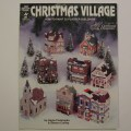 Christmas village how to paint 32 plaster buildings booklet