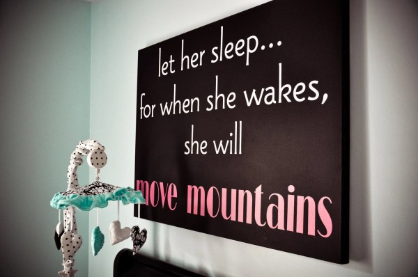 Sleep. Children Vinyl Lettering Wall Art Words