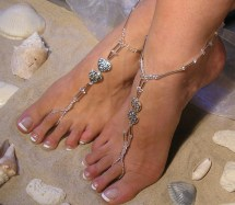 Barefoot Sandals Happi Feet Handmade Pair Nude Shoes