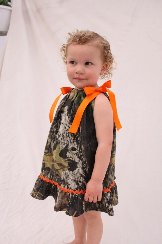 Baby girl camo dress Camo Wedding Flower girl dress Mossy