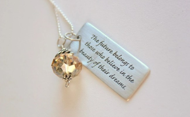 Graduation Necklace Graduation Gift For Her The Future