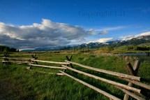 Bozeman Montana Cherry Creek Framed