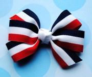 patriotic stripes red white & blue