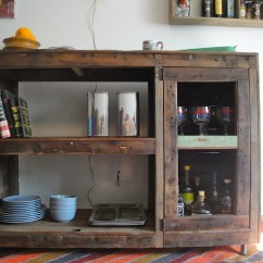 Semi Custom Kitchen Cabinets Reviews Tuscan Decor Handmade Reclaimed Wood Bookcase Wine Rack Record Cabinet