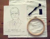 Tim Gunn Makes It Work  - Cheeky Hand Embroidery Kit - laceandsparrow