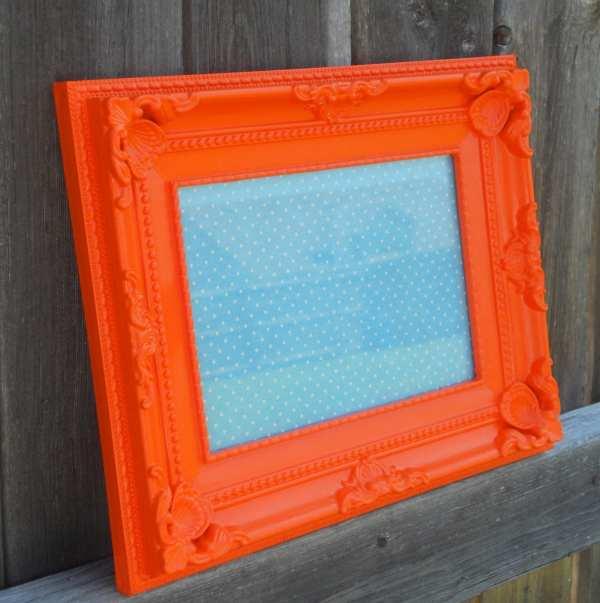 Orange 5X7 Picture Frames Bulk