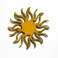 SUN Metal Wall Art 24 Garden Art indoor outdoor