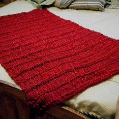 Eggplant Sofa Curved Sectional Set Knit Throw Blanket Dark Red Crimson Scarlet Ruby By ...