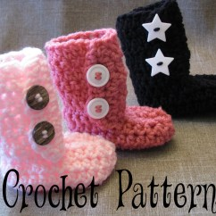 Crochet Baby Booties Diagram 2002 Mitsubishi Lancer Headlight Wiring Ugg Inspired Boots Pattern