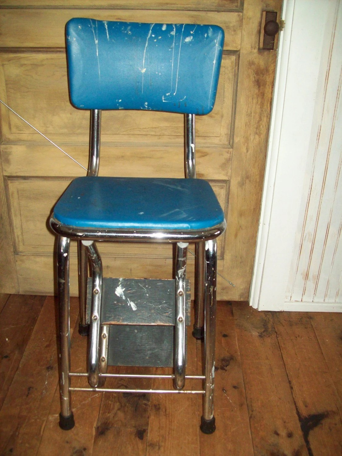 chair step stool cheap lounge chairs for bedroom vintage