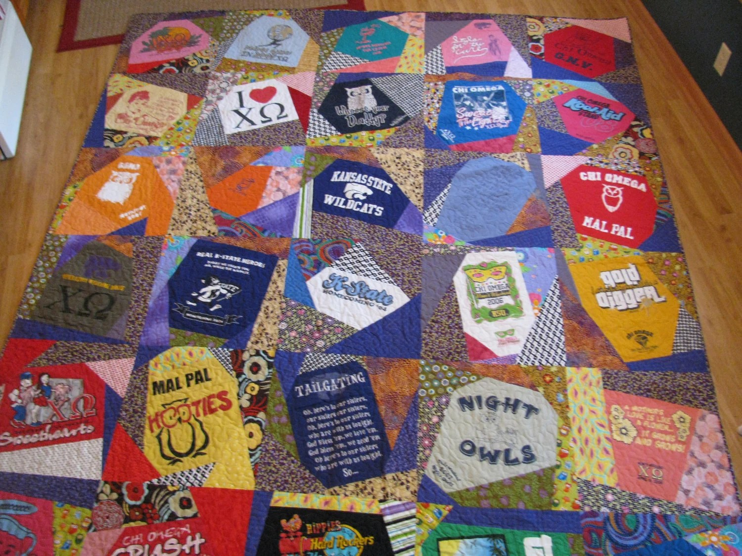 T Shirts Made Quilts