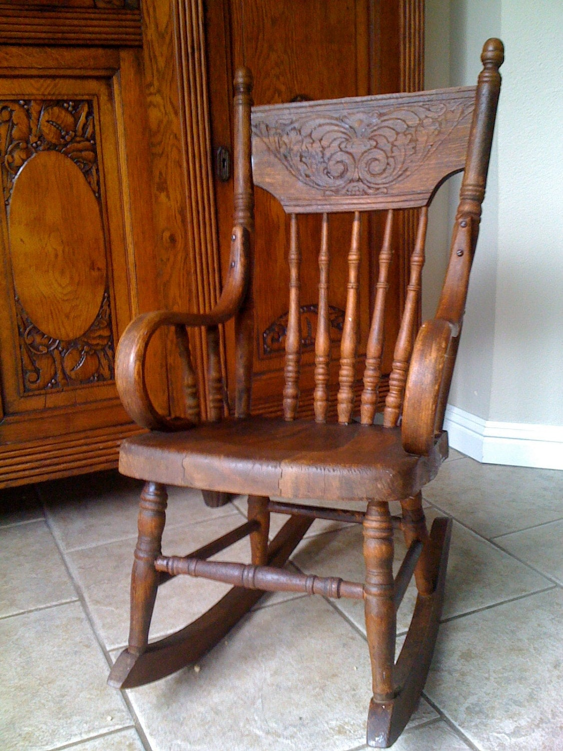 old fashioned rocking chairs folding chair makeover adorable antique child 39s