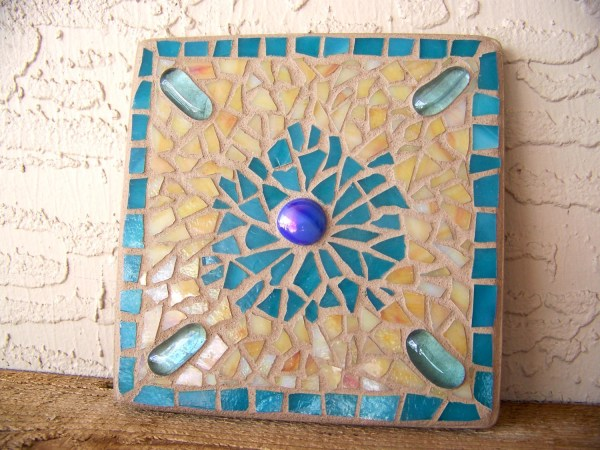 Mosaic Wall Hanging Stained Glass Art