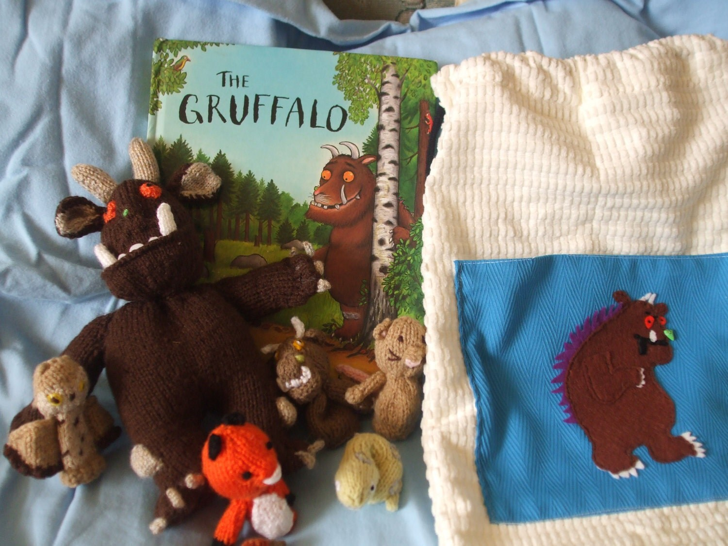 Gruffalo Story Sack Finger Puppets Excellent Teaching