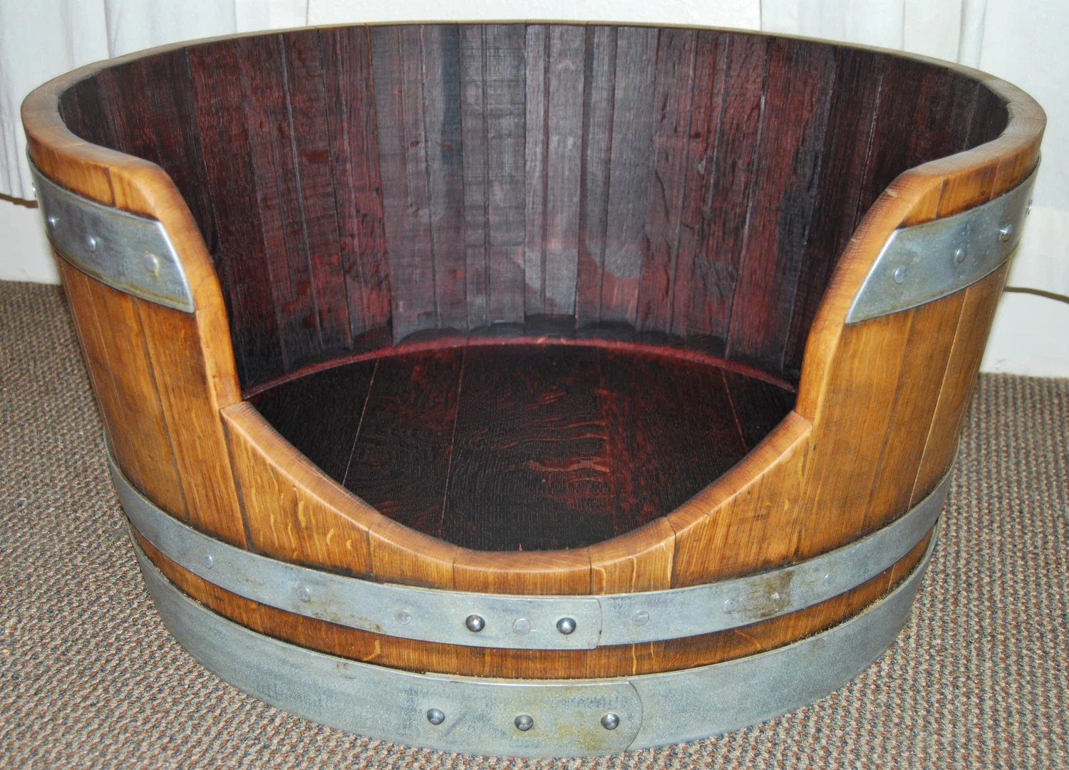 wine barrel chair acapulco nz cabernet pet bed from napa valley