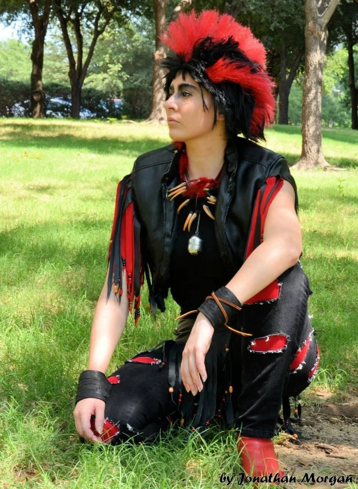Rufio Cosplay from Hook For Chris B no shoes