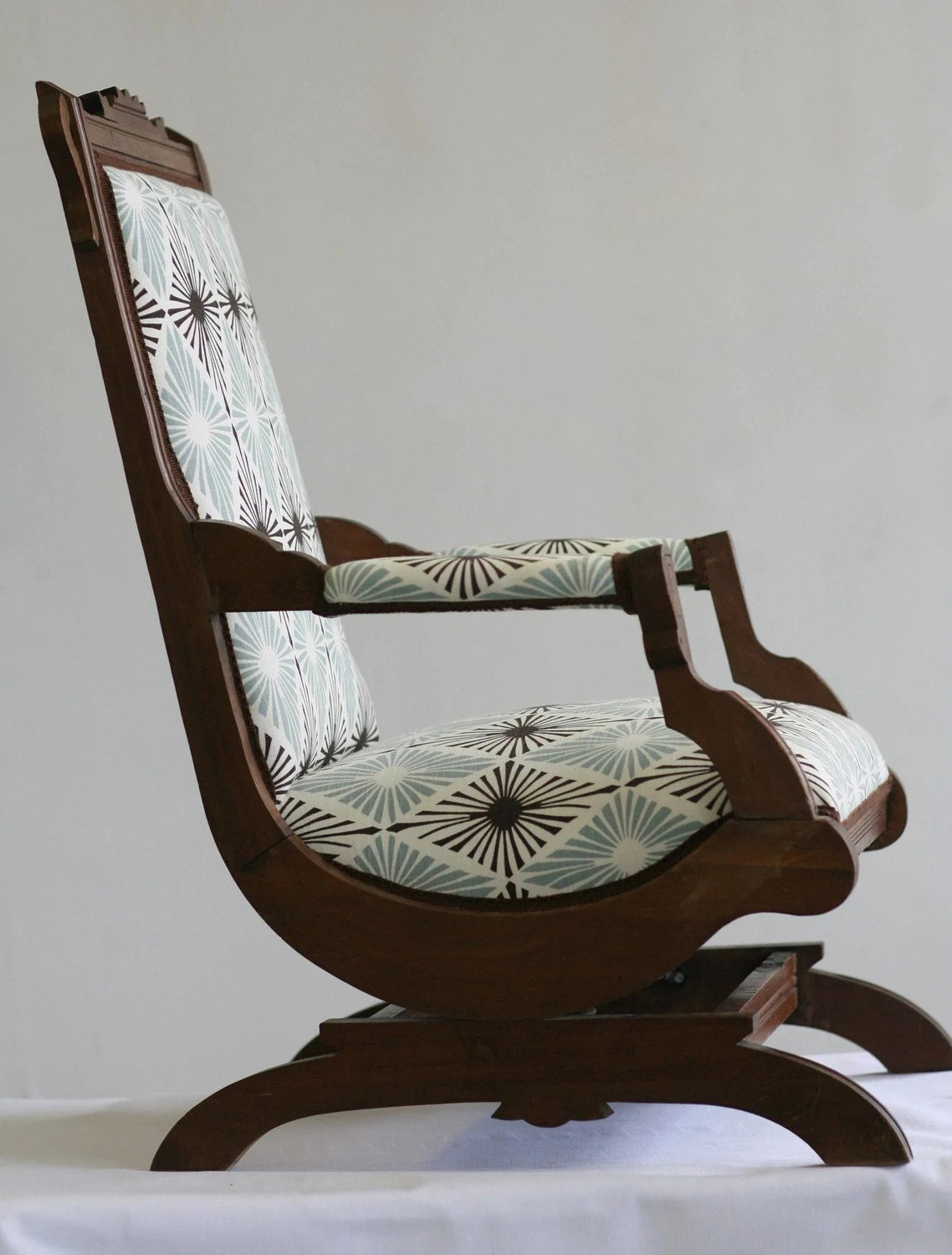 Rocky Chair Antique Victorian Rocking Chair
