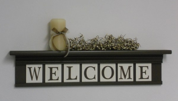 Sign Welcome Wall Decor