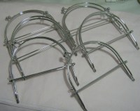 6pcs Metal Purse Frame with Ball Clasp & Loops 6