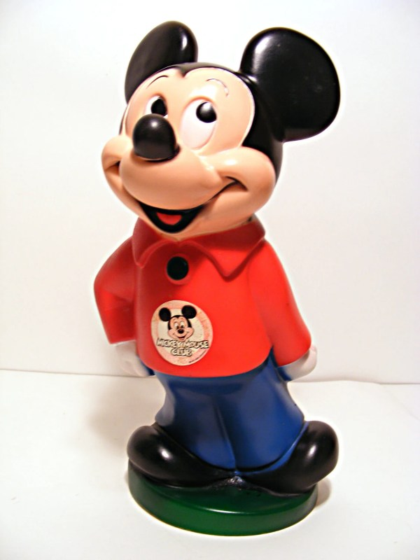 Vintage Mickey Mouse Bank Scribblefitz