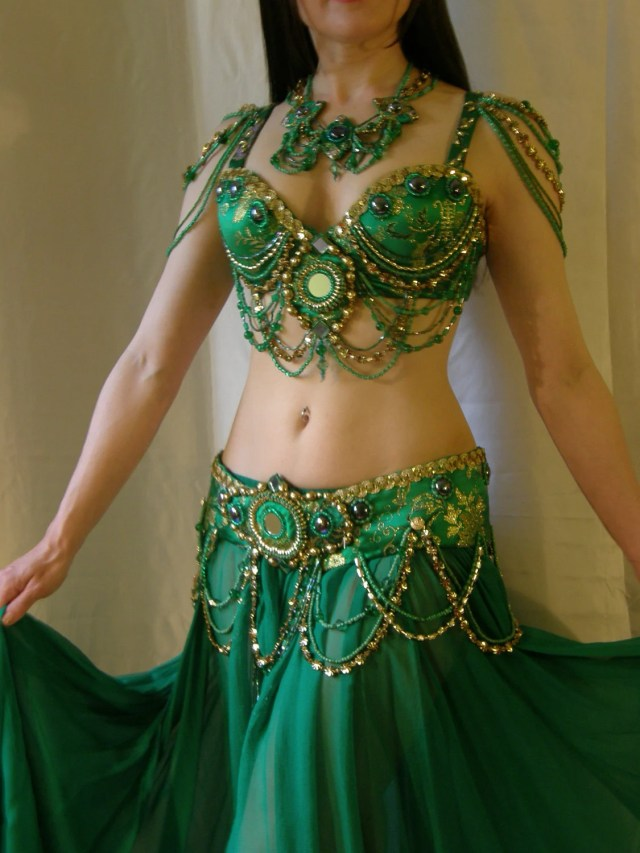 Belly Dance Costume by Totally Creative NY