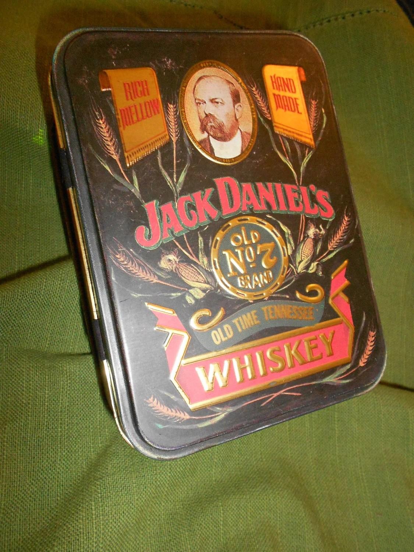 Rare Vintage Jack Daniels Tin Metal Advertising Collectible