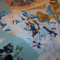 Vintage star wars bedding set tons of star wars fabric by pohlmans
