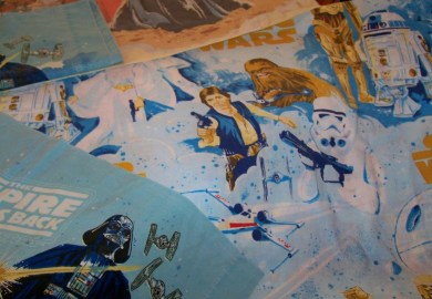 Star Wars Bedding Vintage