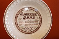 Jeannette Pie Plate Royal China Country Harvest / American Pie
