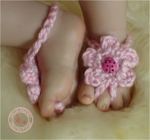 Baby Sandals Girl Barefoot