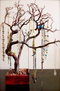 30 Red Jewelry Tree / Jewelry Organizer for East coast