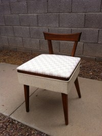 Mid Century Modern Sewing Chair
