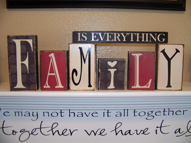 Family Room Shelf Decor