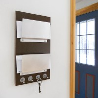 wood letter holder wall mount | woodproject