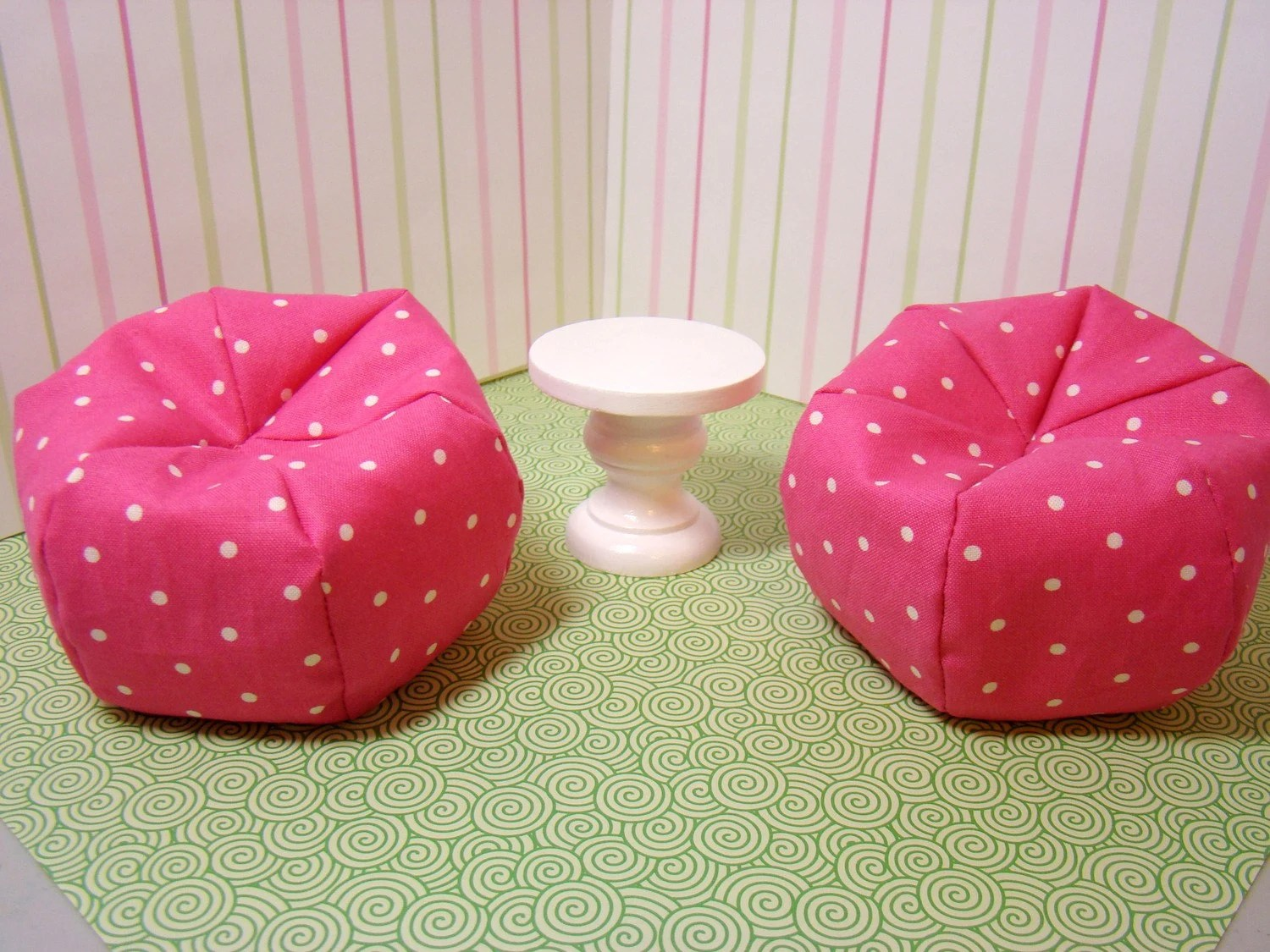 barbie bean bag chair covers to hire liverpool furniture chairs and table conversation set