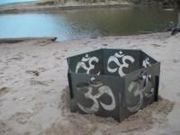 Decorative Portable Metal Fire Pit Ohm