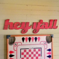 Hey Y'all Sign Southern Home Decor Southern Wall Decor