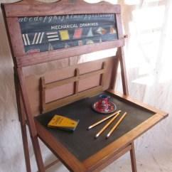 Red Canister Set For Kitchen Moen Faucet Warranty Vintage School Desk Child Educational By Littleredpolkadots