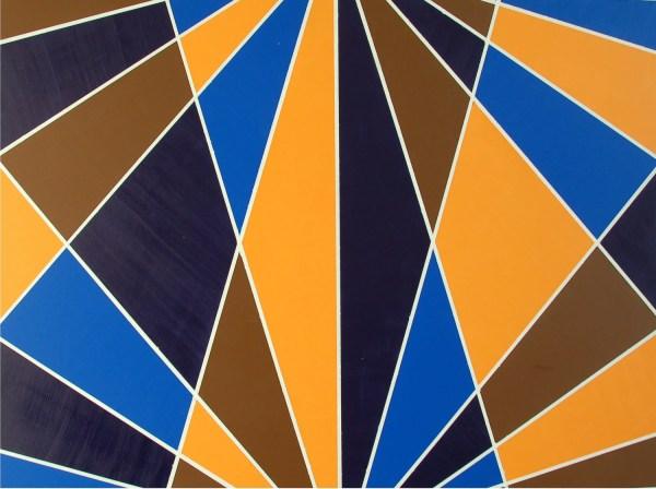Geometric Art Deco Paintings