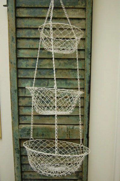 hanging kitchen basket Etsy - Your place to buy and sell all things handmade, vintage, and supplies