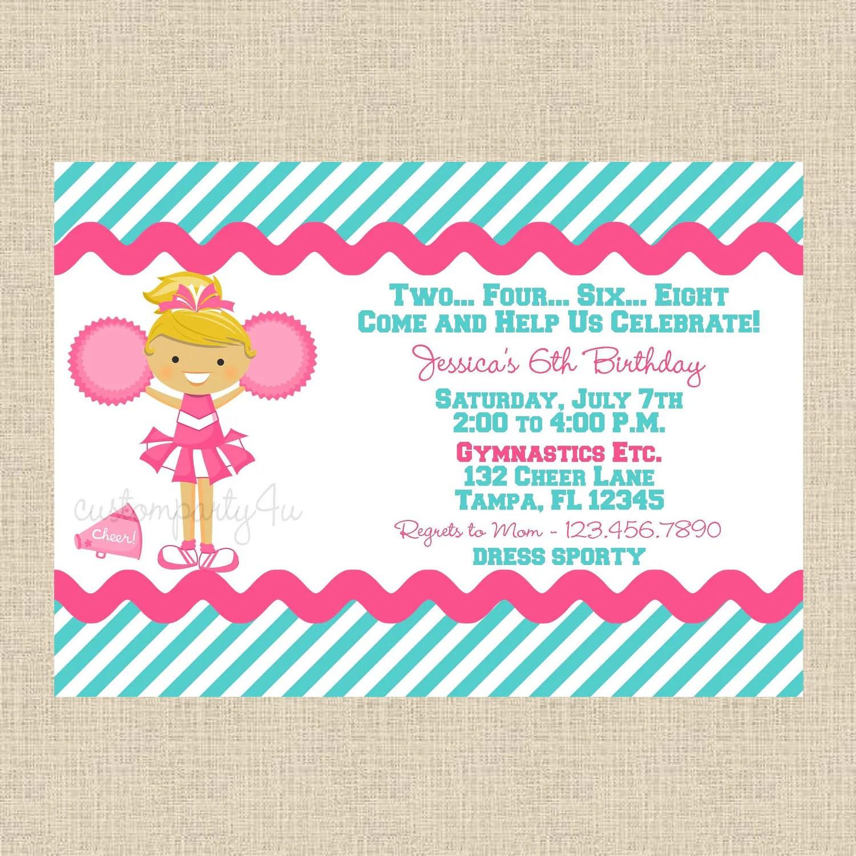 Custom Event Invitations