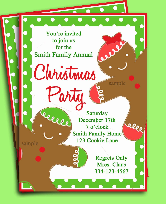 Christamas Party Invitation
