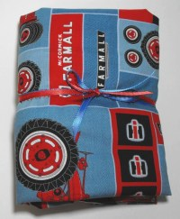 Farmall Case IH Tractor Kids Bedding Set for Crib or Toddler