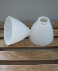 Vintage Milk Glass Replacement Lamp Shades