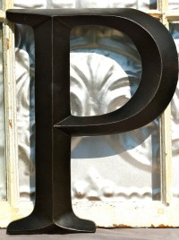 Large Letter P/ Sign Letter / Wall Decor/ by ...
