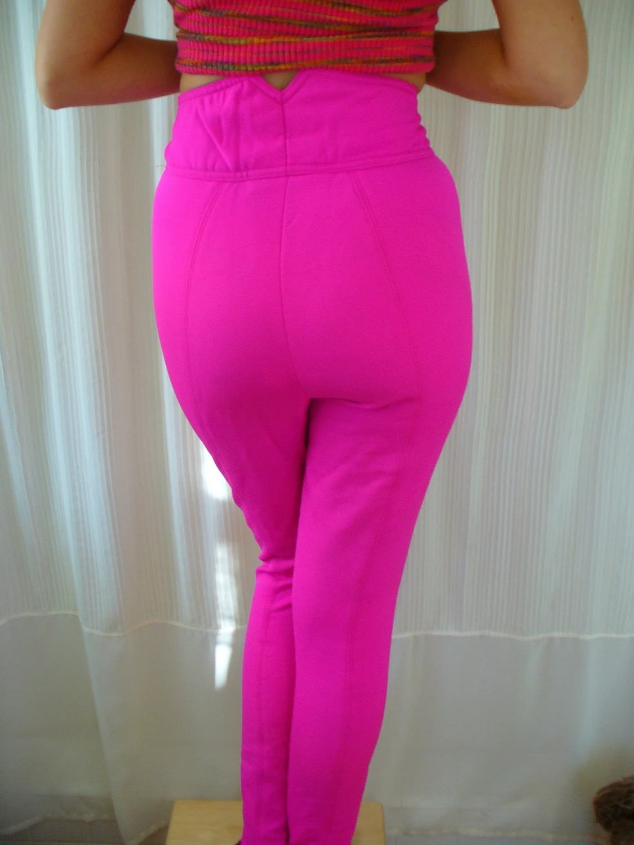 Vintage Bubblegum Pink Ski Pants Snow Bunny